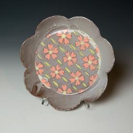 Tessein and Ritter Grace Tessein/Dennis Ritter, Medium Plate, earthenware