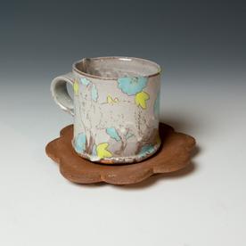 Tessein and Ritter Grace Tessein/Dennis Ritter, Cup & Saucer, earthenware