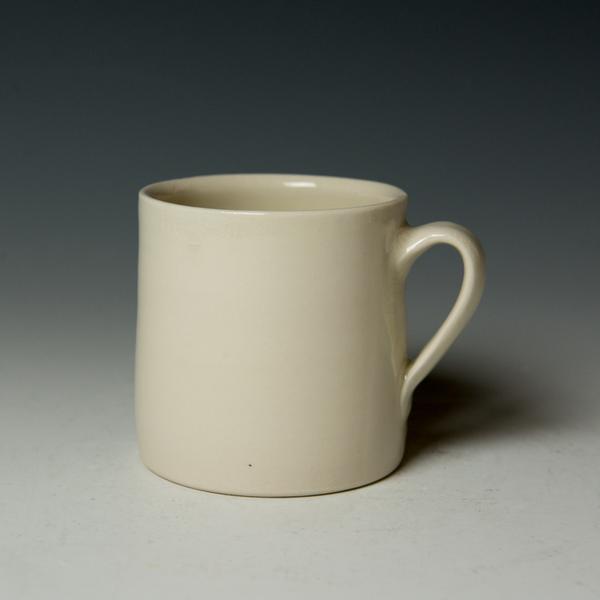 """Stephanie Wilhelm Stephanie Wilhelm, Terrier Mug, porcelain, gold luster, 3.5 x 3.5"""""""