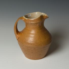 Michael Simon Michael Simon, Pitcher, stoneware, glaze, slip, salt-fired