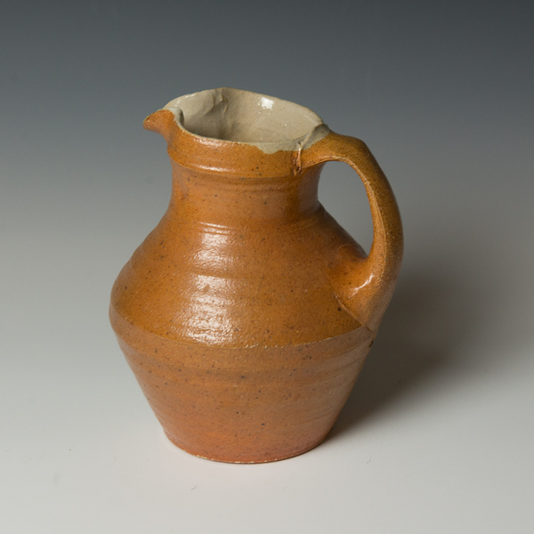 Michael Simon Michael Simon, Pitcher, stoneware, glaze, slip, salt-fired
