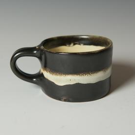 """Courtney Martin Courtney Martin, Wide Mug, stoneware, 2.75 x 5.25 x 3.75"""""""
