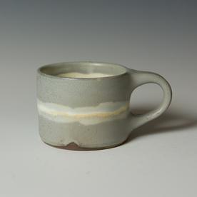 """Courtney Martin Courtney Martin, Wide Mug, stoneware, 2.75 x 5.25 x 2.5"""""""