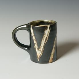 "Courtney Martin Courtney Martin, Mug, stoneware, 4 x 5 x 3"""