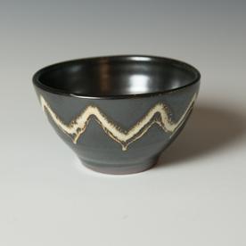 "Courtney Martin Courtney Martin, Small Bowl, stoneware, 3.25 x 5"" dia."