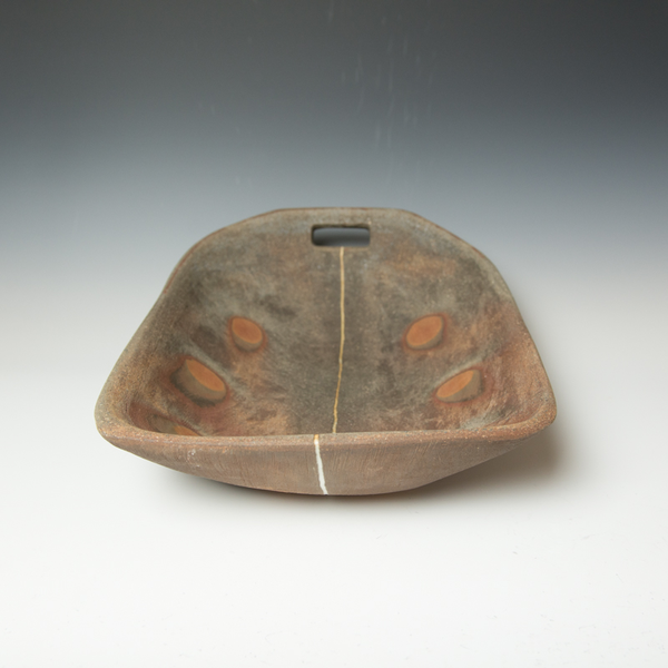 Simon Levin Simon Levin, Large Trough,  woodfired, 6.5 x 21.5 x 15""