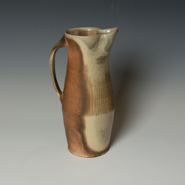 Simon Levin Simon Levin, Pitcher,  woodfired, 10.5 x 5.5 x 4.5""
