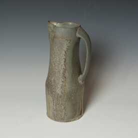 Simon Levin Simon Levin, Pitcher,  woodfired, 11.5 x 5.5 x 4.75""