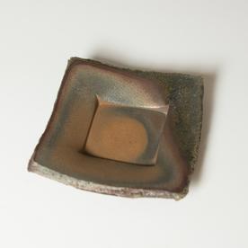 "Simon Levin Simon Levin, Press Plate,  woodfired, 1.75 x 5.25 x 5.5"""