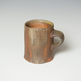"Simon Levin Simon Levin, Diner Mug, woodfired, 3.75 x 4.25 x 3.25"""