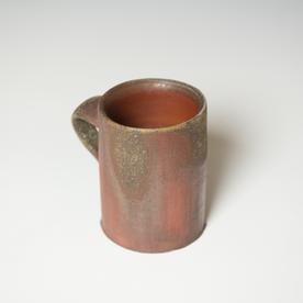 "Simon Levin Simon Levin, Diner Mug, woodfired, 4 x 4.25 x 3"""