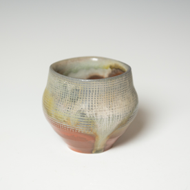 Simon Levin Simon Levin, Whiskey Cup, woodfired, 3 x 3.25 x 3.25""