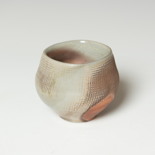 """Simon Levin Simon Levin, Whiskey Cup, woodfired, 2.75 x 3 x 3"""""""