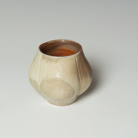 """Simon Levin Simon Levin, Whiskey Cup, woodfired, 2.75 x 2.75 x 2.75"""""""