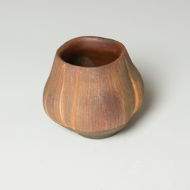 """Simon Levin Simon Levin, Whiskey Cup, woodfired, 3 x 2.75 x 3"""""""