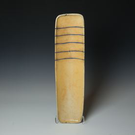 Tom Jaszczak Tom Jaszczak, Rectangle Tray, soda-fired earthenware, slip, underglaze
