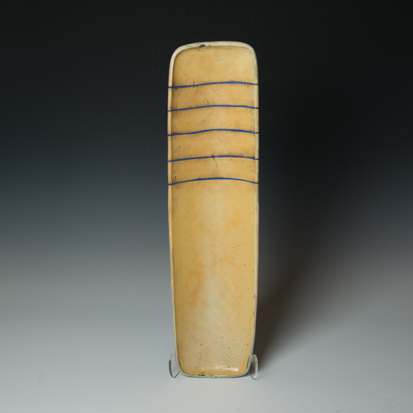 Tom Jaszczak Tom Jaszczak, Rectangle Tray, sodafired earthenware, slip, underglaze