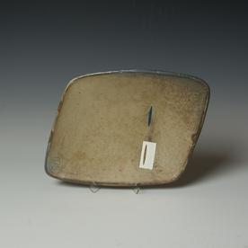 Tom Jaszczak Tom Jaszczak, Parallel Plate, soda-fired earthenware, slip, underglaze