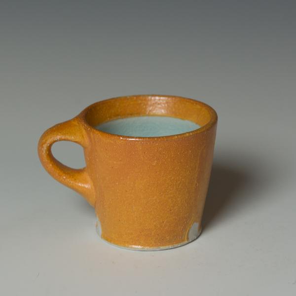 """Kenyon Hansen Kenyon Hansen, Mug, soda-fired stoneware, 3 x 4.25 x 3.25"""""""