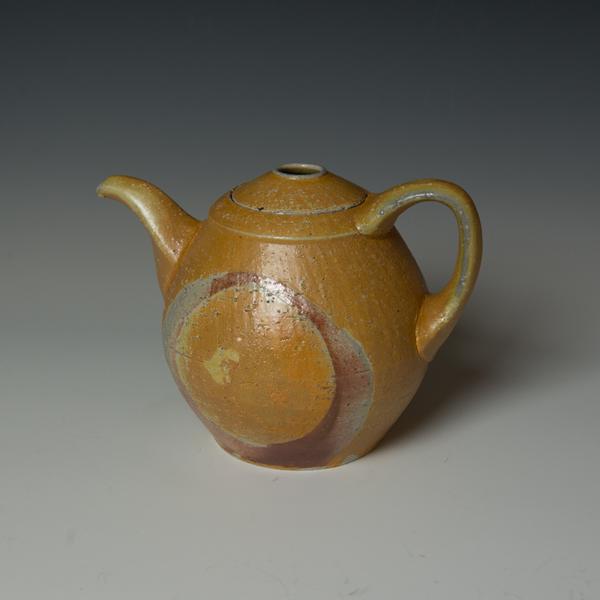 """Kenyon Hansen Kenyon Hansen, Teapot, soda-fired stoneware, 6.25 x 9.25 x  6.25"""""""