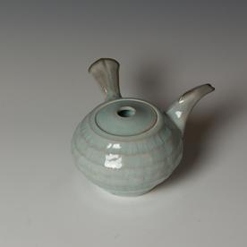 Kenyon Hansen Kenyon Hansen, Teapot, soda-fired stoneware