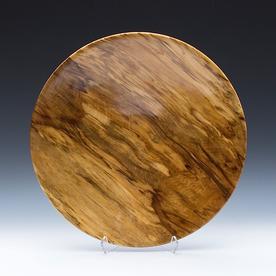 "Philip Moulthrop Philip Moulthrop, Spalted Sweet Gum Platter, 3.5 x 17.5"""