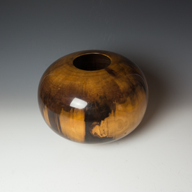 Ed Moulthrop Ed Moulthrop, Figured Tulipwood, (1989) 10 x 14""