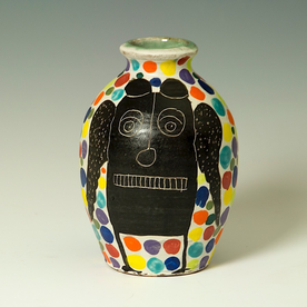 "Kurt Anderson Kurt Anderson, Small Vase, stoneware, 10 x 6.75 x 4.75"""