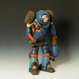 "Michael Klapthor Michael Klapthor, PWL-118 Analytic Robot, 26 x 14 x 13"""