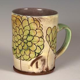 "Maria Dondero Maria Dondero, Mug, earthenware, 4.25 x 4.25 x 3.25"""