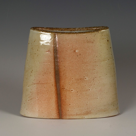 Nancy Green Nancy Green, Oval Vase, stoneware