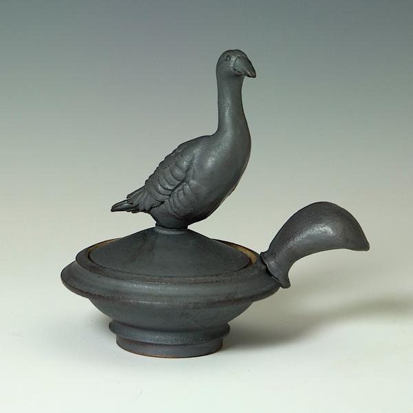 Steve Godfrey Steve Godfrey, Grey Goose Salt Cellar, stoneware
