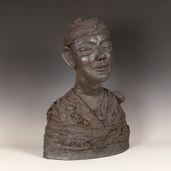 Sunkoo Yuh Sunkoo Yuh, Figure, stoneware