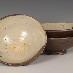 "Minsoo Yuh Minsoo Yuh, Bowl, stoneware, 3.5 x 8.5"""