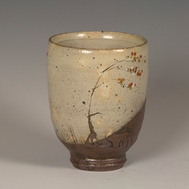 Minsoo Yuh Minsoo Yuh, Vase/Tumbler, stoneware