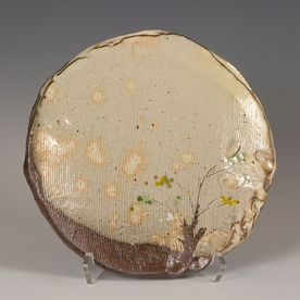"Minsoo Yuh Minsoo Yuh, Small Plate, stoneware, 1 x 8"""