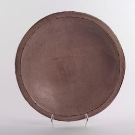 "Joe Pintz Joe Pintz, Round Dinner Plate, handbuilt earthenware, 10 x .75"""