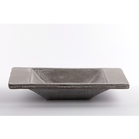 "Joe Pintz Joe Pintz, Medium Rectangular Dish, handbuilt earthenware, 10.75 x 7 x 2"""