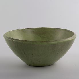 "Joe Pintz Joe Pintz, Large Serving Bowl, handbuilt earthenware, 4 x 9.5"""
