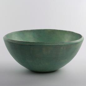 "Joe Pintz Joe Pintz, Large Mixing Bowl, handbuilt earthenware, 5.5 x 12"""