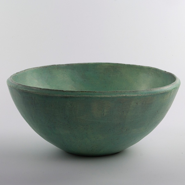 Joe Pintz Joe Pintz, Large Mixing Bowl, handbuilt earthenware, 5.5 x 12""