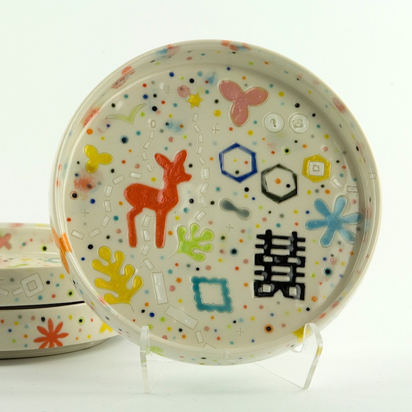 "Masa Sasaki Masa Sasaki, Princess Appetizer Plate, 1 x 6"""