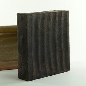 """Nancy Green Nancy Green, Asymmetrical Vase, stoneware, Wood Fired, 9.75 x 8.75 x 2.5"""""""
