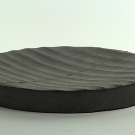 Nancy Green Nancy Green, Hollow Round Tray, stoneware, 1.5 x 11.75""