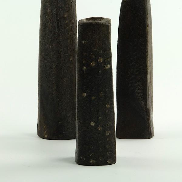 """Nancy Green Nancy Green, Bud Vase, stoneware, 5.75 x 1.5 x 1.5"""""""
