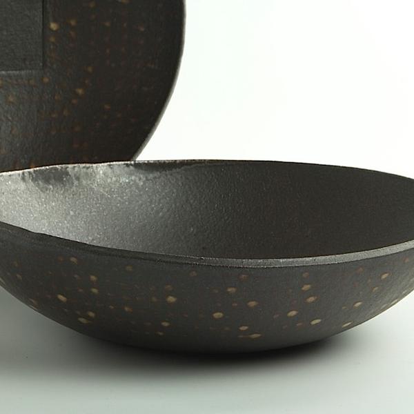 """Nancy Green Nancy Green, Swrving Bowl, stoneware, 1.5 x 10.5 x 10"""""""