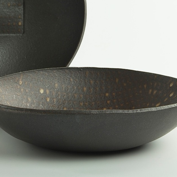 Nancy Green Nancy Green, Swrving Bowl, stoneware, 1.75 x 10.75 x 9.5""