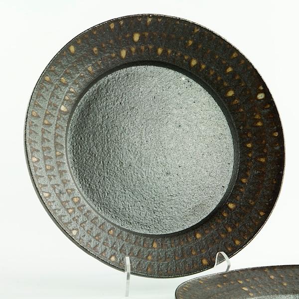 "Nancy Green Nancy Green, Lunch Plate, stoneware, .75 x 8.25"""