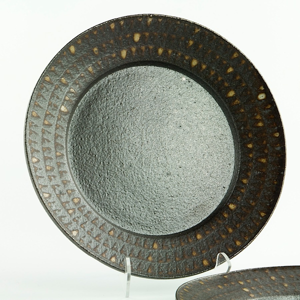 Nancy Green Nancy Green, Dinner Plate, stoneware, 1 x 10.5""