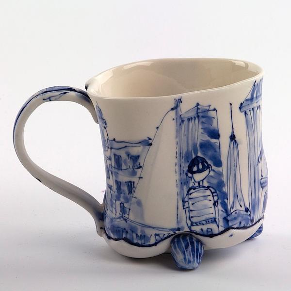 Keok (KB) Lim KB Lim, Mug, porcelain